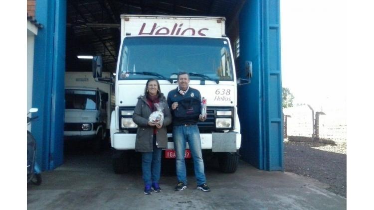 Ernei Padilha e sua esposa, representantes Helios na cidade de Santo Ângelo/RS, foram os grandes vencedores da campanha Dia dos Namorados. Trabalho realizado em parceria com o Supervisor de Vendas Luis Mariano Oliveira. Parabéns!!!