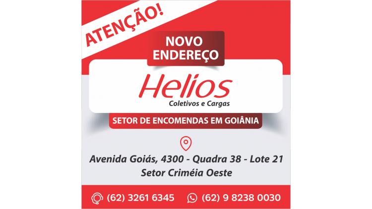O novo endereço do nosso setor de encomendas em Goiânia é na Avenida Goiás, 4300 - Quadra 38 - Lote 21 - Setor Criméia Oeste.Telefones para contato : (62) 32616345 e (62) 982380030