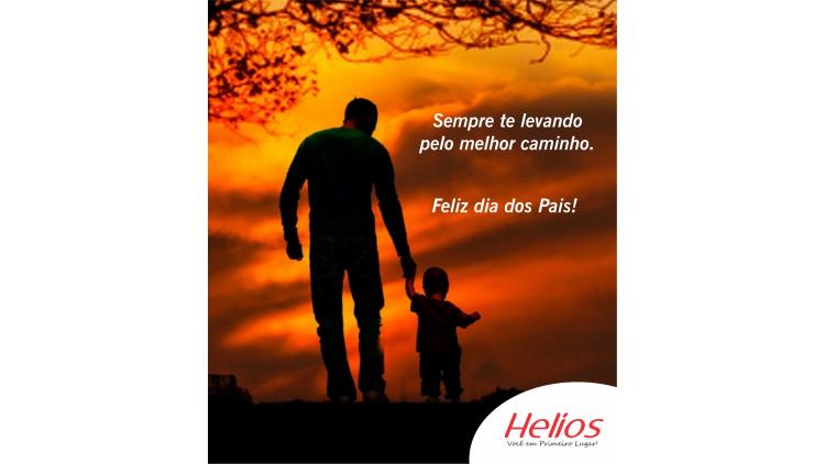 Pai é espelho, proteção e conselho. Pai é amor!  Feliz Dia dos Pais!